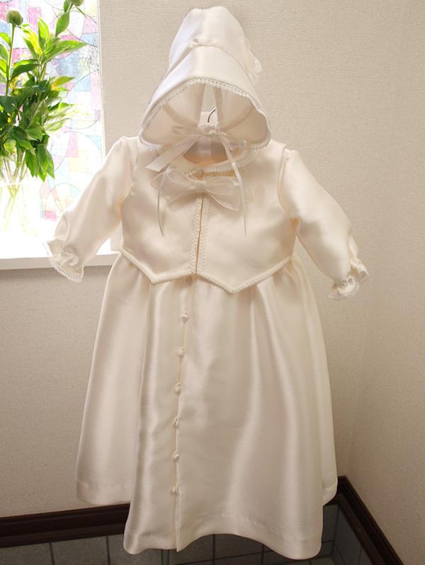 タキシード風ベビードレス