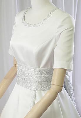 Aライン 和風ウェディングドレス