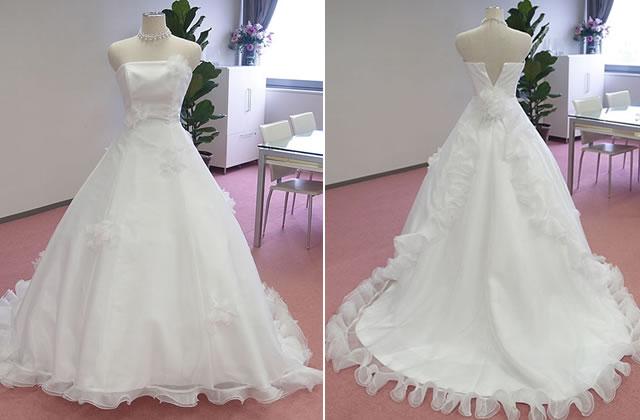 フリルのチェンジドレス